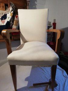 Rénovation complète d'un fauteuil
