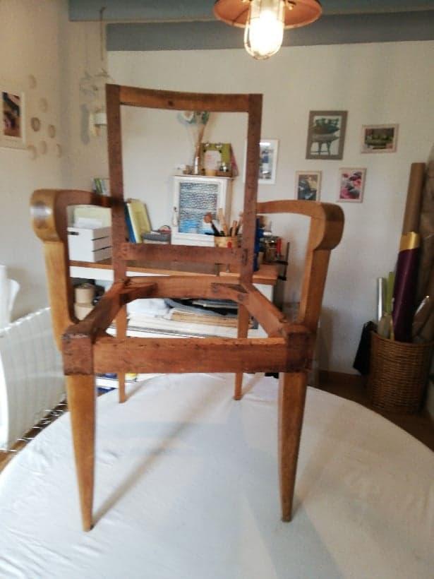 squelette fauteuil