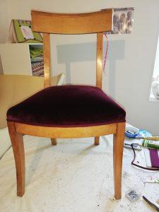 Chaise avant / après