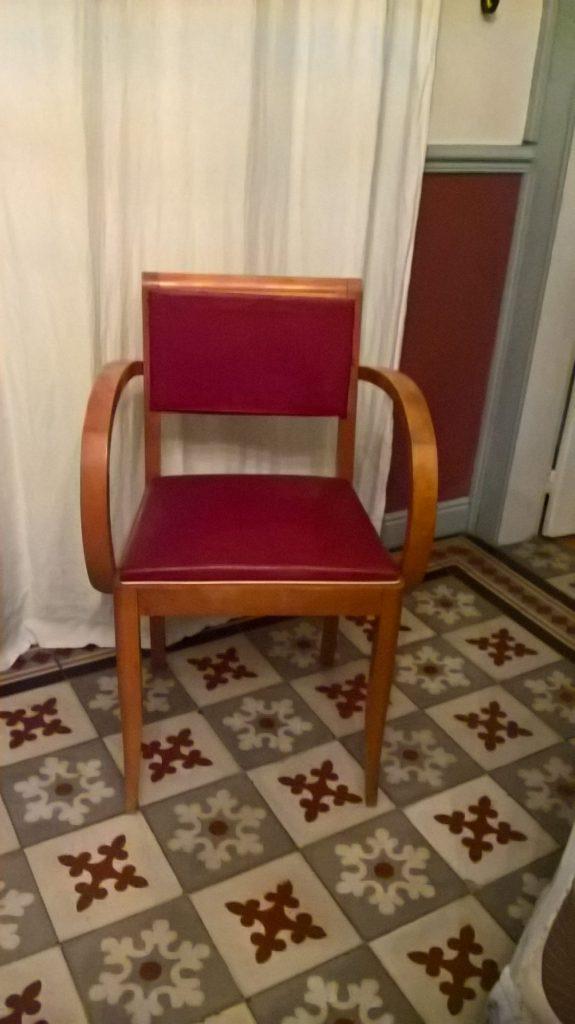 fauteuil simili cuir