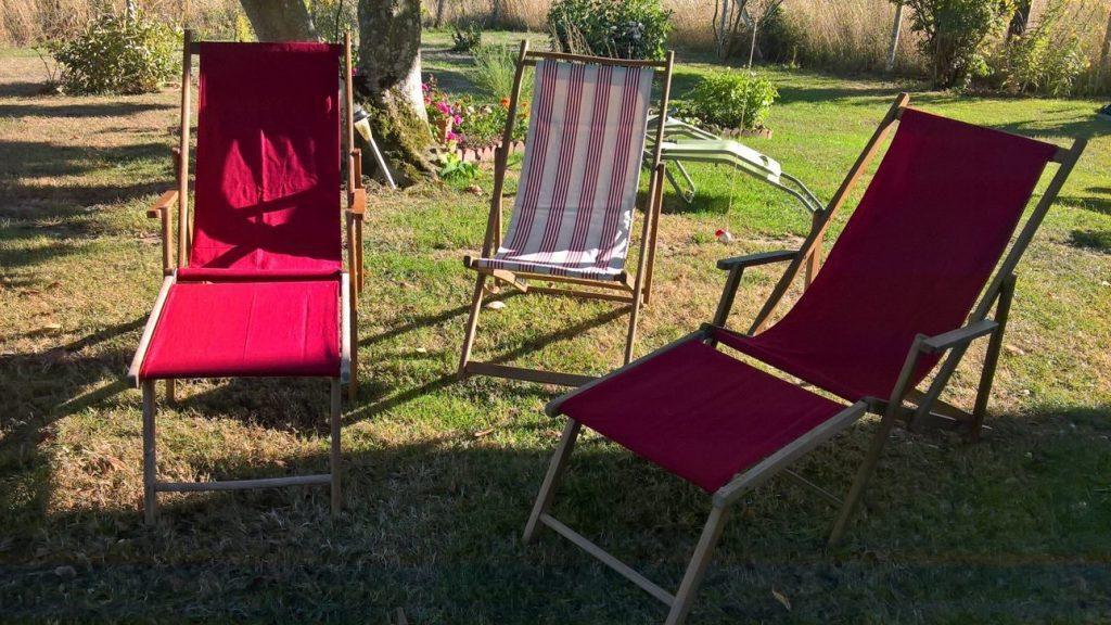 fauteuils renovation